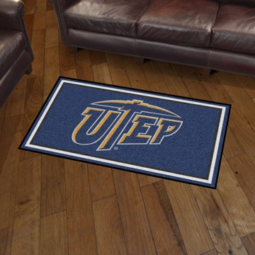 Picture of UTEP 3'x5' Plush Rug