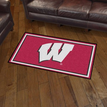 Picture of Wisconsin 3'x5' Plush Rug
