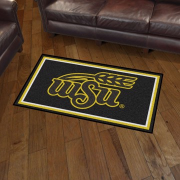 Picture of Wichita State 3'x5' Plush Rug