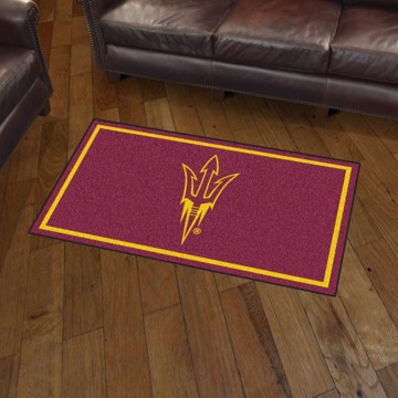 Picture of Arizona State 3'x5' Plush Rug