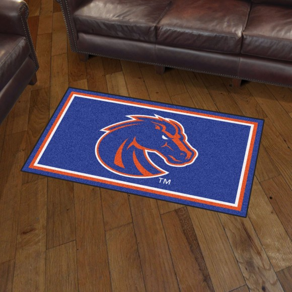 Picture of Boise State 3'x5' Plush Rug