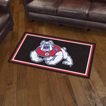 Picture of Fresno State 3'x5' Plush Rug