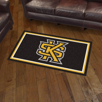 Picture of Kennesaw State 3'x5' Plush Rug