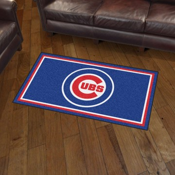 Picture of MLB - Chicago Cubs 3'x5' Plush Rug