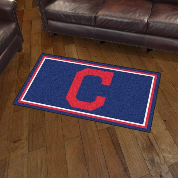 Picture of MLB - Cleveland Indians 3'x5' Plush Rug