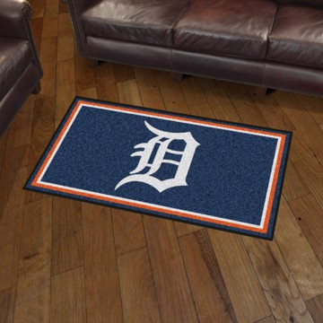 Picture of MLB - Detroit Tigers 3'x5' Plush Rug