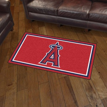 Picture of MLB - Los Angeles Angels 3'x5' Plush Rug