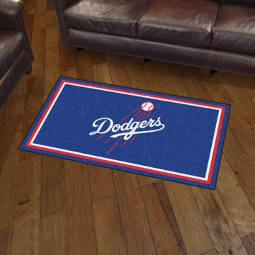 Picture of MLB - Los Angeles Dodgers 3'x5' Plush Rug