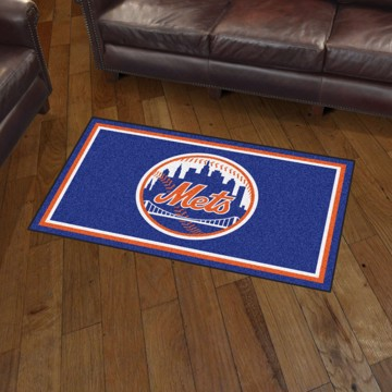 Picture of MLB - New York Mets 3'x5' Plush Rug