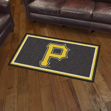 Picture of MLB - Pittsburgh Pirates 3'x5' Plush Rug
