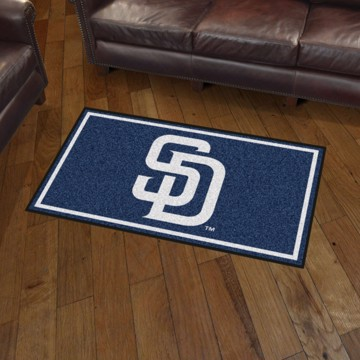 Picture of MLB - San Diego Padres 3'x5' Plush Rug