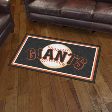 Picture of MLB - San Francisco Giants 3'x5' Plush Rug