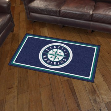 Picture of MLB - Seattle Mariners 3'x5' Plush Rug