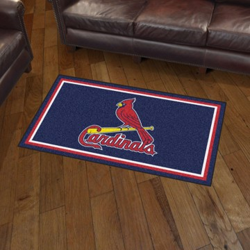 Picture of MLB - St. Louis Cardinals 3'x5' Plush Rug