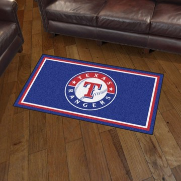 Picture of MLB - Texas Rangers 3'x5' Plush Rug