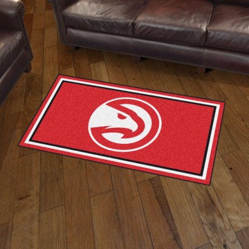 Picture of NBA - Atlanta Hawks 3'x5' Plush Rug