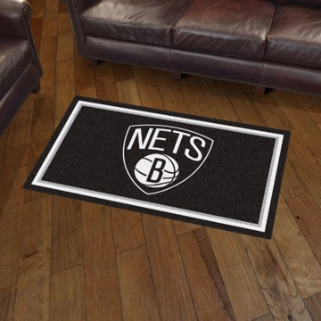 Picture of NBA - Brooklyn Nets 3'x5' Plush Rug