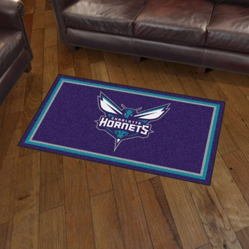 Picture of NBA - Charlotte Hornets 3'x5' Plush Rug