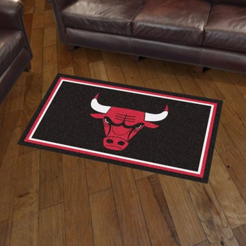 Picture of NBA - Chicago Bulls 3'x5' Plush Rug