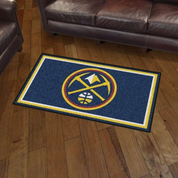 Picture of NBA - Denver Nuggets 3'x5' Plush Rug