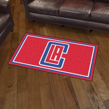 Picture of NBA - Los Angeles Clippers 3'x5' Plush Rug