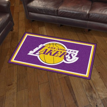 Picture of NBA - Los Angeles Lakers 3'x5' Plush Rug