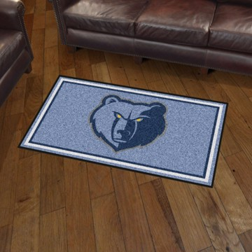 Picture of NBA - Memphis Grizzlies 3'x5' Plush Rug