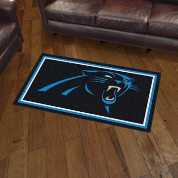 Picture of NFL - Carolina Panthers 3'x5' Plush Rug