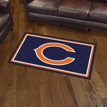 Picture of NFL - Chicago Bears 3'x5' Plush Rug