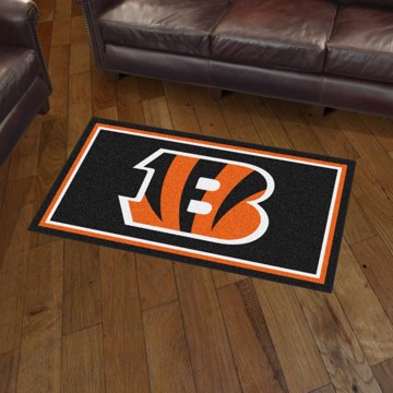 Picture of NFL - Cincinnati Bengals 3'x5' Plush Rug