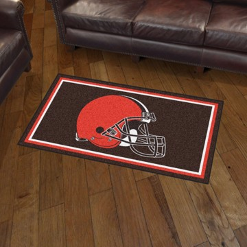 Picture of NFL - Cleveland Browns 3'x5' Plush Rug