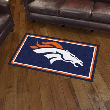Picture of NFL - Denver Broncos 3'x5' Plush Rug