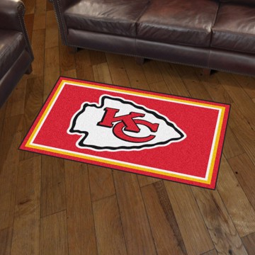Picture of NFL - Kansas City Chiefs 3'x5' Plush Rug