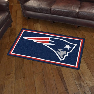 Picture of NFL - New England Patriots 3'x5' Plush Rug