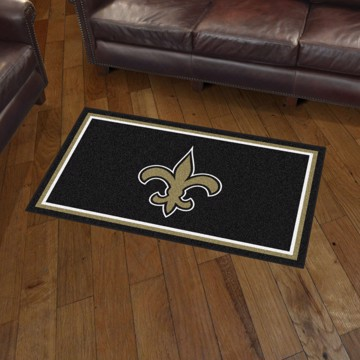 Picture of NFL - New Orleans Saints 3'x5' Plush Rug