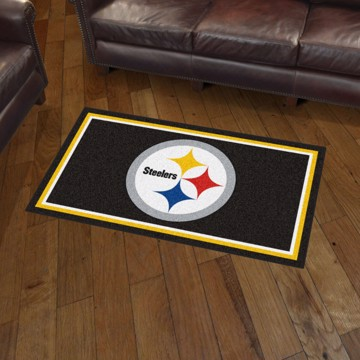 Picture of NFL - Pittsburgh Steelers 3'x5' Plush Rug