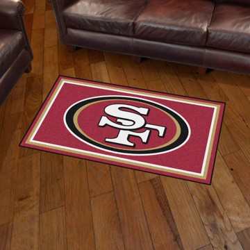 Picture of NFL - San Francisco 49ers 3'x5' Plush Rug