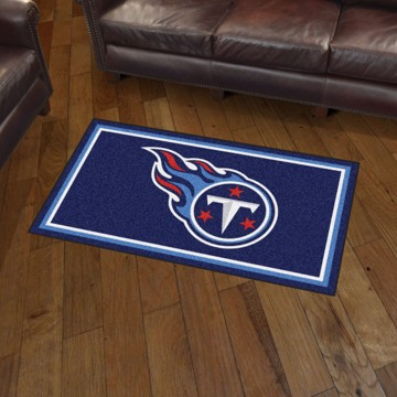 Picture of NFL - Tennessee Titans 3'x5' Plush Rug