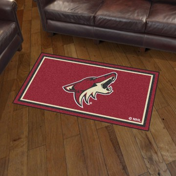 Picture of NHL - Arizona Coyotes 3'x5' Plush Rug