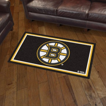 Picture of NHL - Boston Bruins 3'x5' Plush Rug