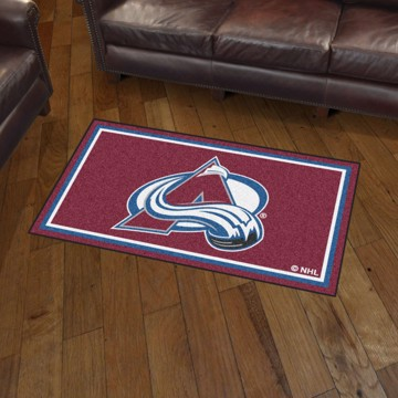 Picture of NHL - Colorado Avalanche 3'x5' Plush Rug