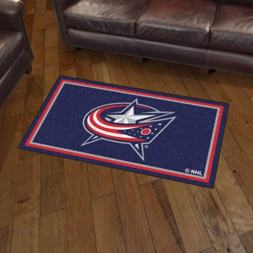Picture of NHL - Columbus Blue Jackets 3'x5' Plush Rug