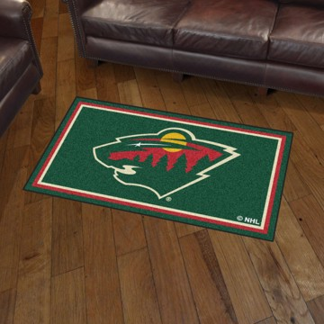 Picture of NHL - Minnesota Wild 3'x5' Plush Rug