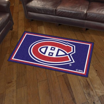 Picture of NHL - Montreal Canadiens 3'x5' Plush Rug