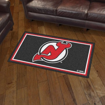 Picture of NHL - New Jersey Devils 3'x5' Plush Rug