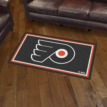 Picture of NHL - Philadelphia Flyers 3'x5' Plush Rug