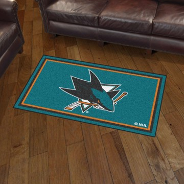 Picture of NHL - San Jose Sharks 3'x5' Plush Rug