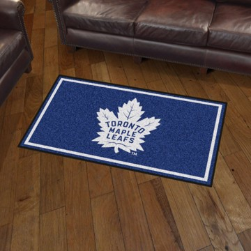 Picture of NHL - Toronto Maple Leafs 3'x5' Plush Rug
