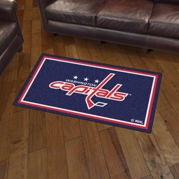 Picture of NHL - Washington Capitals 3'x5' Plush Rug