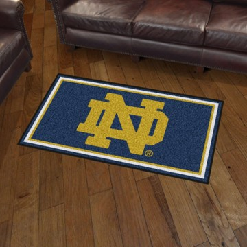 Picture of Notre Dame 3'x5' Plush Rug